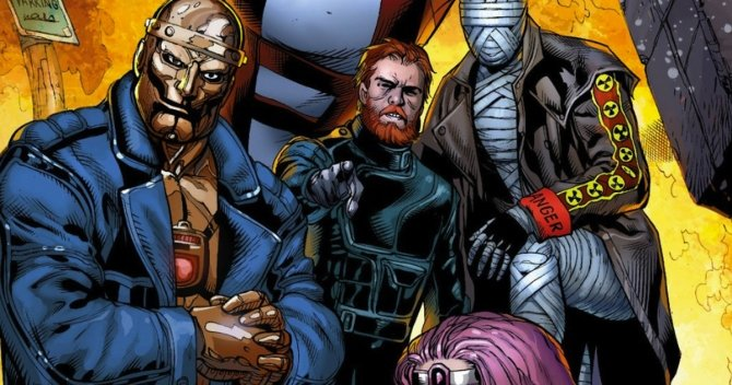 Doom Patrol Live Action Series Coming To Dc Universe Cyborg Will