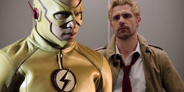 Kid Flash Constantine Legends of Tomorrow