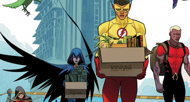 Exclusive Preview: A New Day Dawns In Teen Titans #17