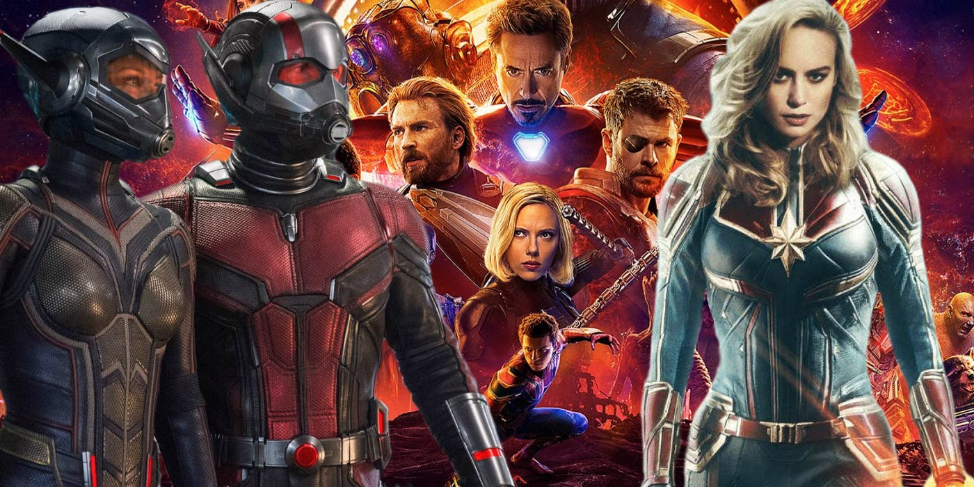 ant-man and the wasp, captain marvel have ties to avengers 4
