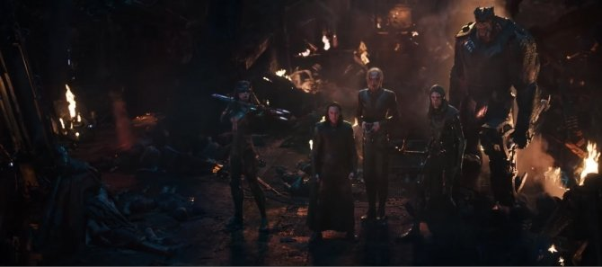 Black Order in Avengers Infinity War