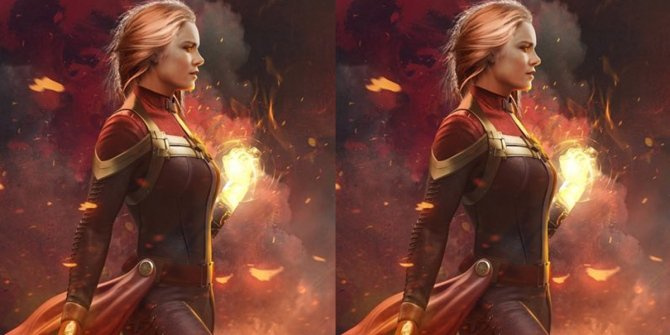 Captain Marvel art