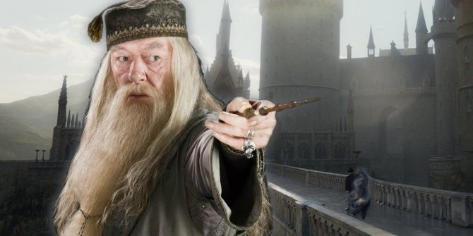 Dumbledore-and-Hogwarts-Apparating