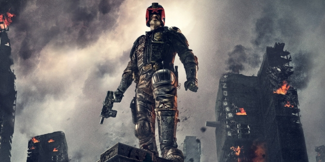 Judge Dredd in Mega City One