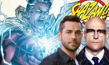 New Shazam! Set Photos Offer Best Look Yet At Zachary Levi And Mark Strong