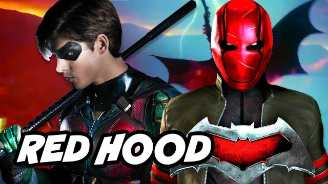 Red hood titans