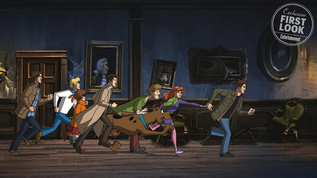 Supernatural and Scooby-Doo crossover trailer revealed