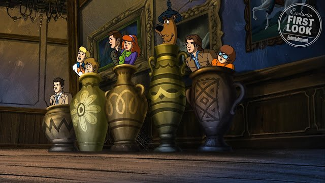 First Look At Supernatural Scooby-Doo Crossover Revealed