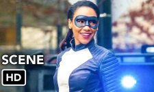 Watch Iris Suit Up As A Speedster On The Flash