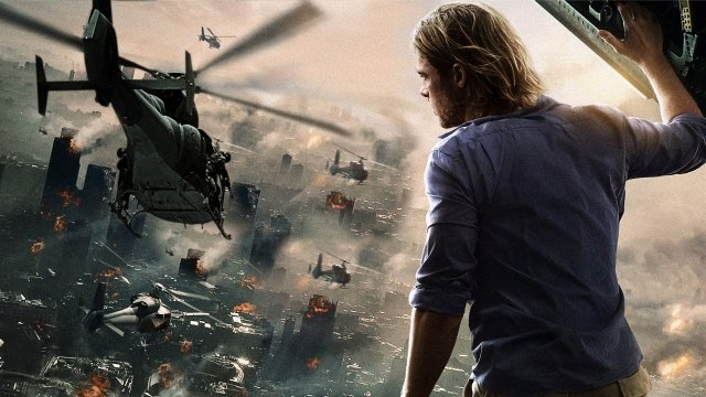 Brad Pitt in World War Z 2