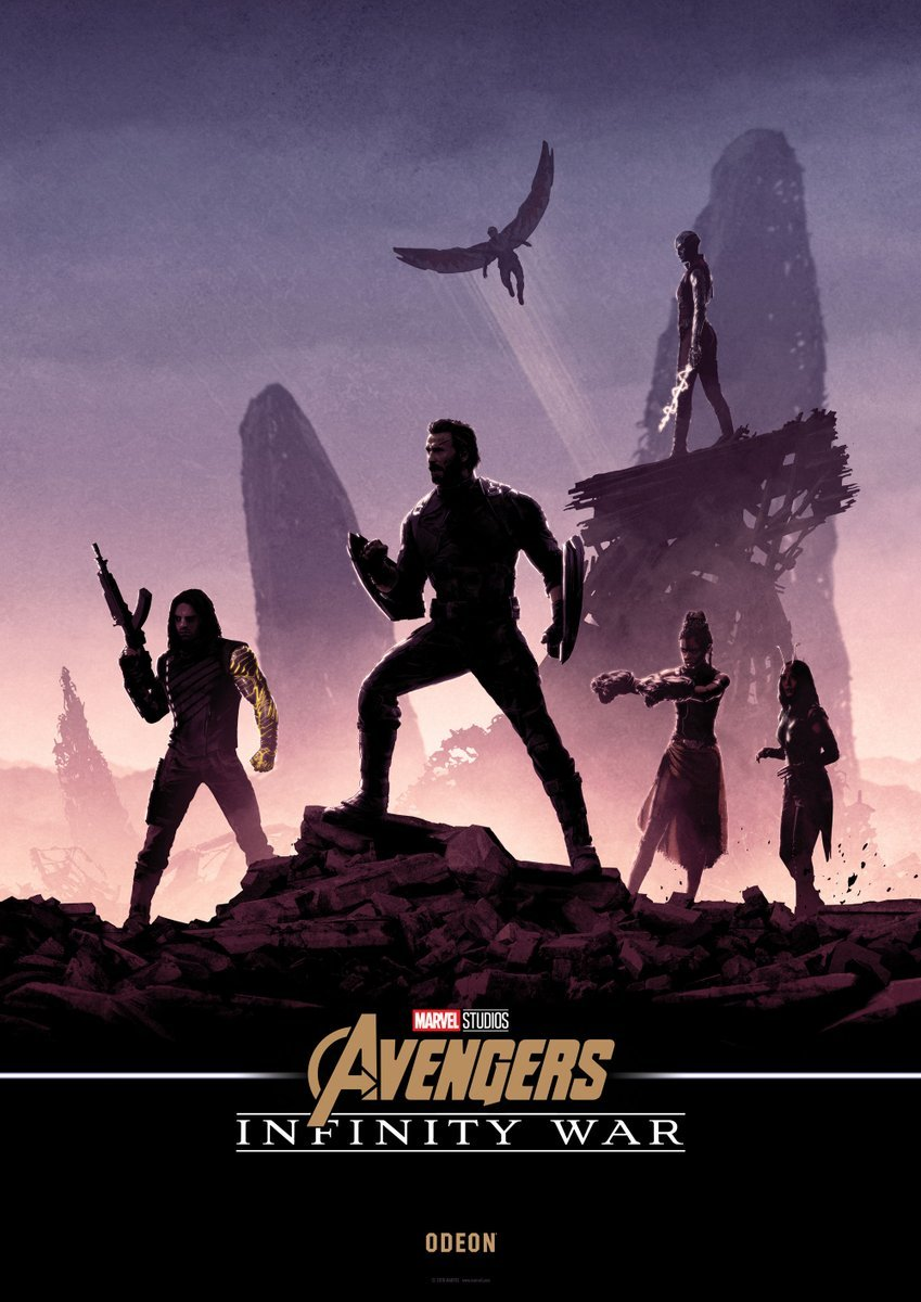 Odeon S Exclusive Infinity War Posters Combine To Create