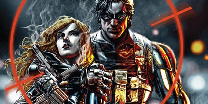 Black Widow and Winter Soldier