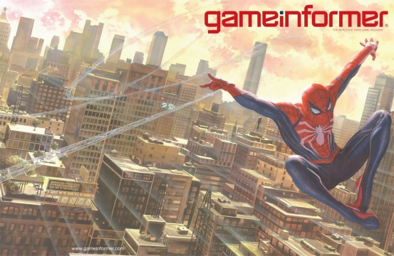 Spider-Man Ps4 cover