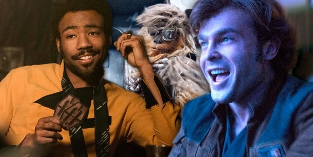 Donald-Glover-as-Lando-Alden-Ehrenreich-as-Han-and-Chewbacca-in-Solo-A-Star-Wars-Story