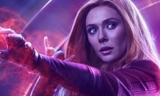 Scarlet Witch Lights Up Wakanda In This New Avengers: Infinity War Still