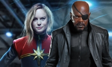 Did The Captain Marvel Trailer Feature Nick Fury's Avengers: Infinity War Pager?
