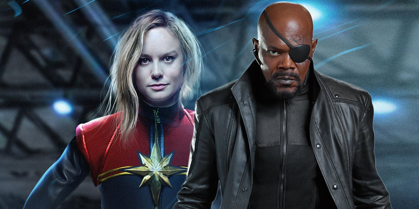 New Captain Marvel Set Pics Reveal First Look At A Young Nick Fury