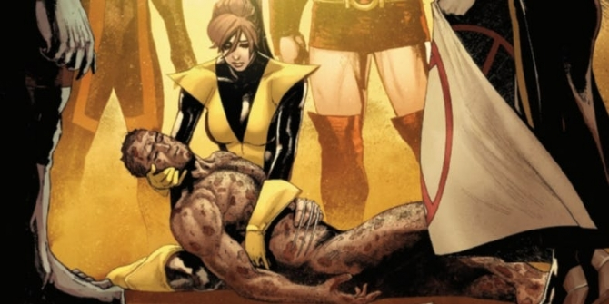 Wolverine and Kitty Pryde