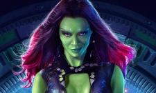 Zoe Saldana Shares BTS Gamora Video From Avengers: Endgame Reshoots