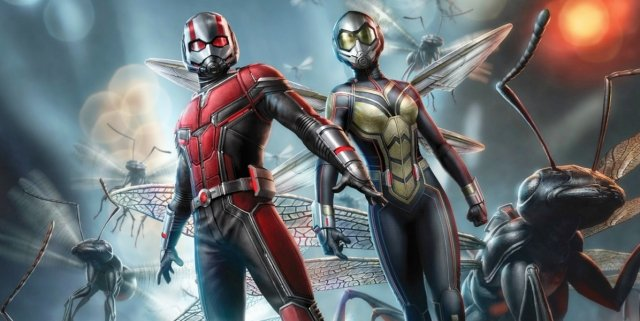 Ant-Man WAsp Promo Art