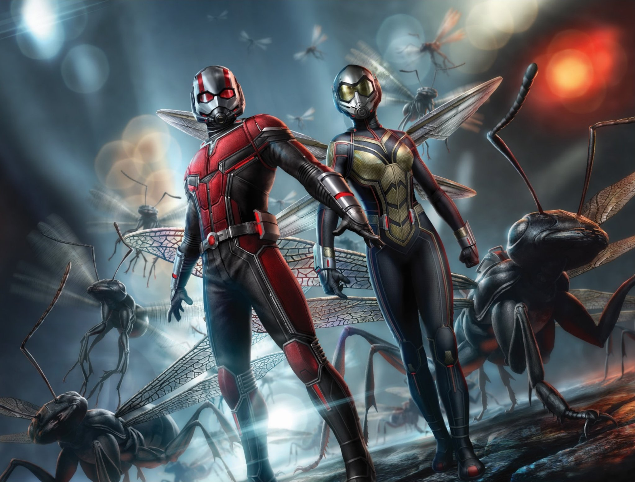 Epic Ant Man And The Wasp Promo Art Scurries Online