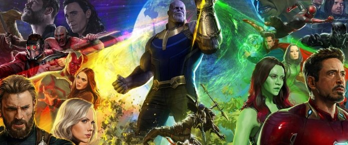 The Art Of Avengers: Infinity War Book Cover Features Epic Clash On Titan