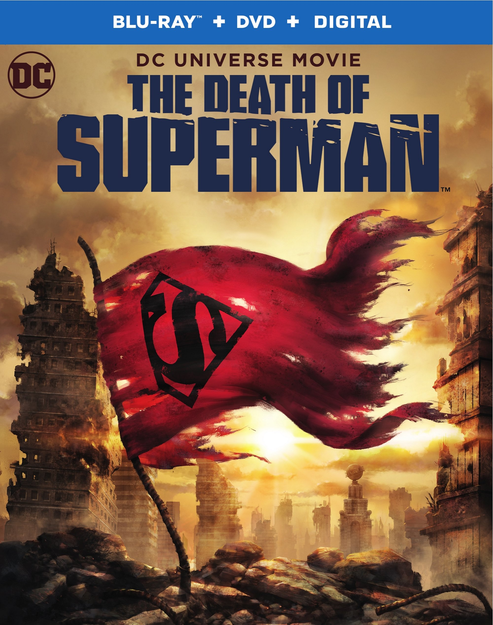 The Death Of Superman Review Short Circuit Bluray Front Row Reviews More From Web