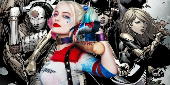 Margot-Robbie-as-Harley-Quinn-With-Birds-of-Prey-Comic-Background (1)