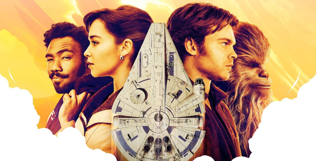 solo a star wars story review round up a slice of fan. Black Bedroom Furniture Sets. Home Design Ideas