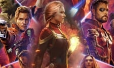 Captain Marvel Takes Down Thanos On Gorgeous Avengers 4 Fan Art