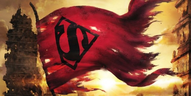 Death of Superman banner