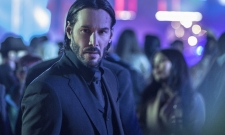 Keanu Reeves Gets Wet In New John Wick: Chapter 3 BTS Image