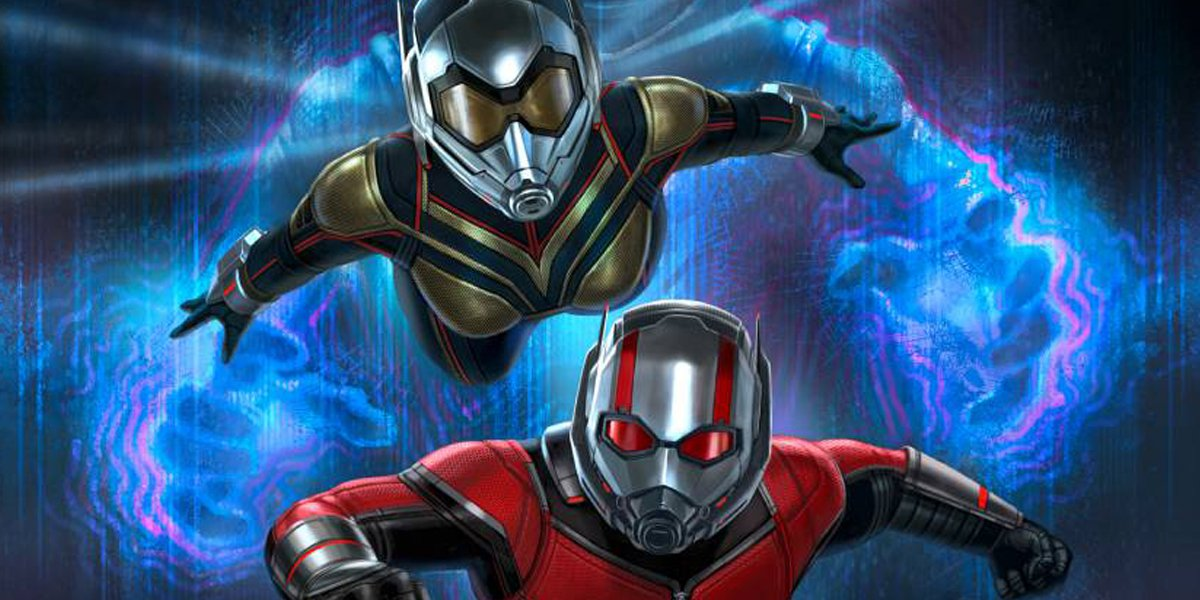 Fresh Ant Man And The Wasp Pics Include An Unmasked Ghost