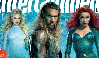 "Aquaman Docks On Latest EW Cover As James Wan Teases A ""Whole New Underwater World"""