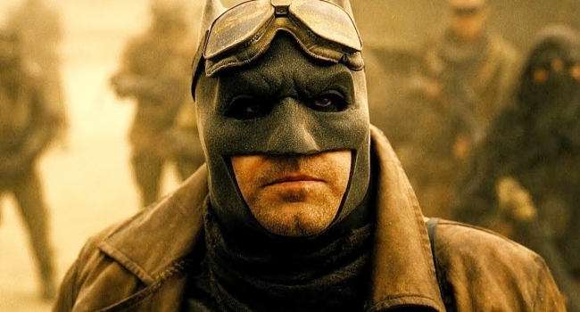 Zack Snyder Shares New Knightmare Batman Photo From His Justice League Cut