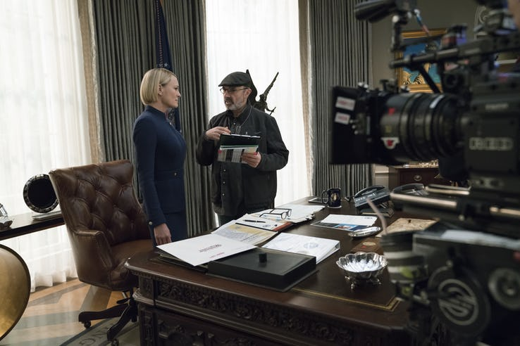 The first look at the new season of House of Cards