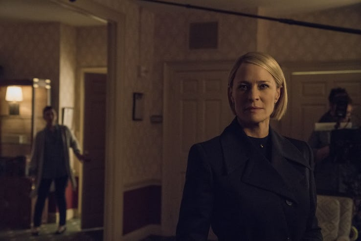 Here's our latest look at the next season of 'House of Cards'