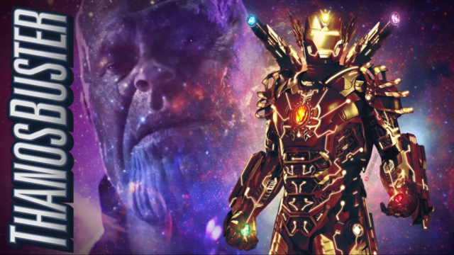 Thanos buster Avengers 4