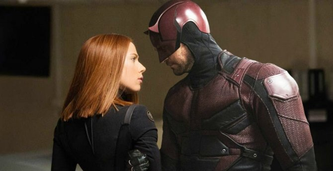 Daredevil Black Widow