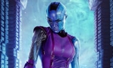 Avengers 4 Star Karen Gillan Shares Mysterious New Photo Of Nebula
