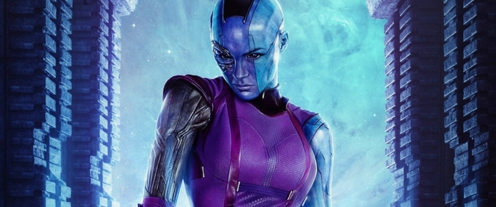 Nebula's All Tied Up In New Avengers: Infinity War BTS Photo