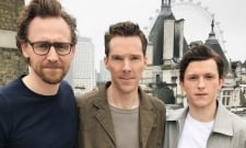 Tom Holland Creeps On Benedict Cumberbatch And Tom Hiddleston At Wimbledon