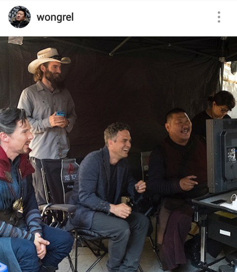 bts avengers infinity war pic features marvel s science bros
