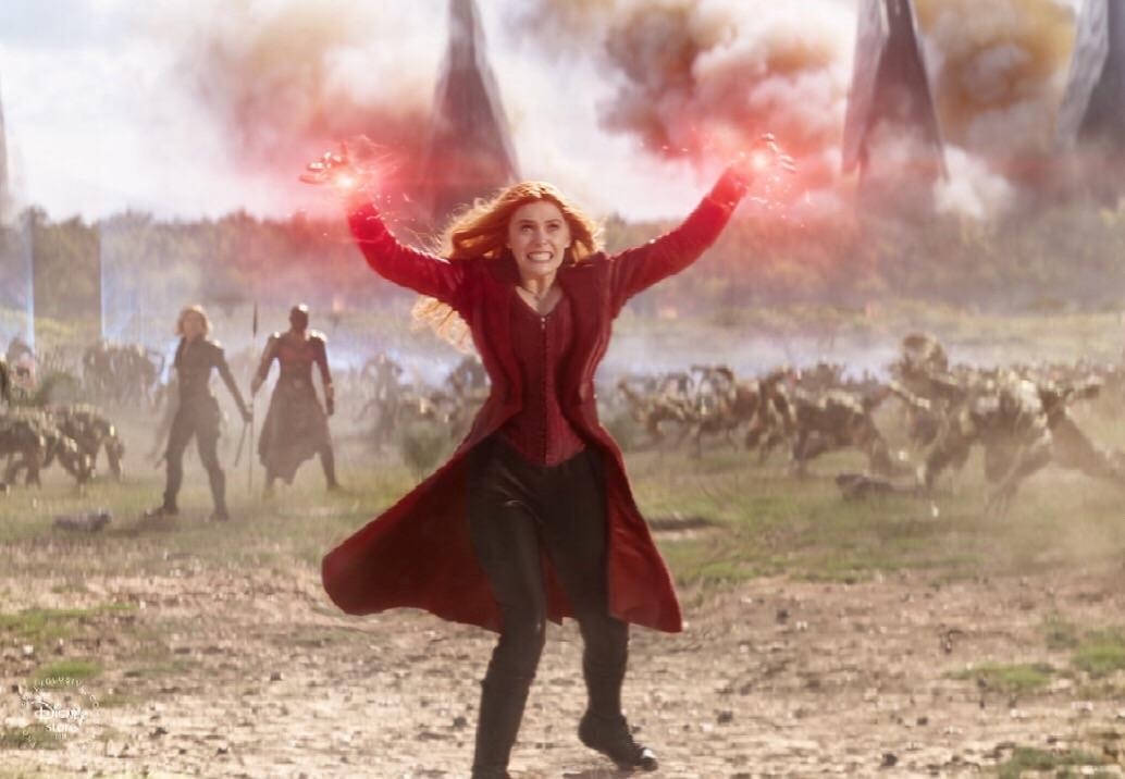 Scarlet Witch Lights Up Wakanda In This Epic Avengers
