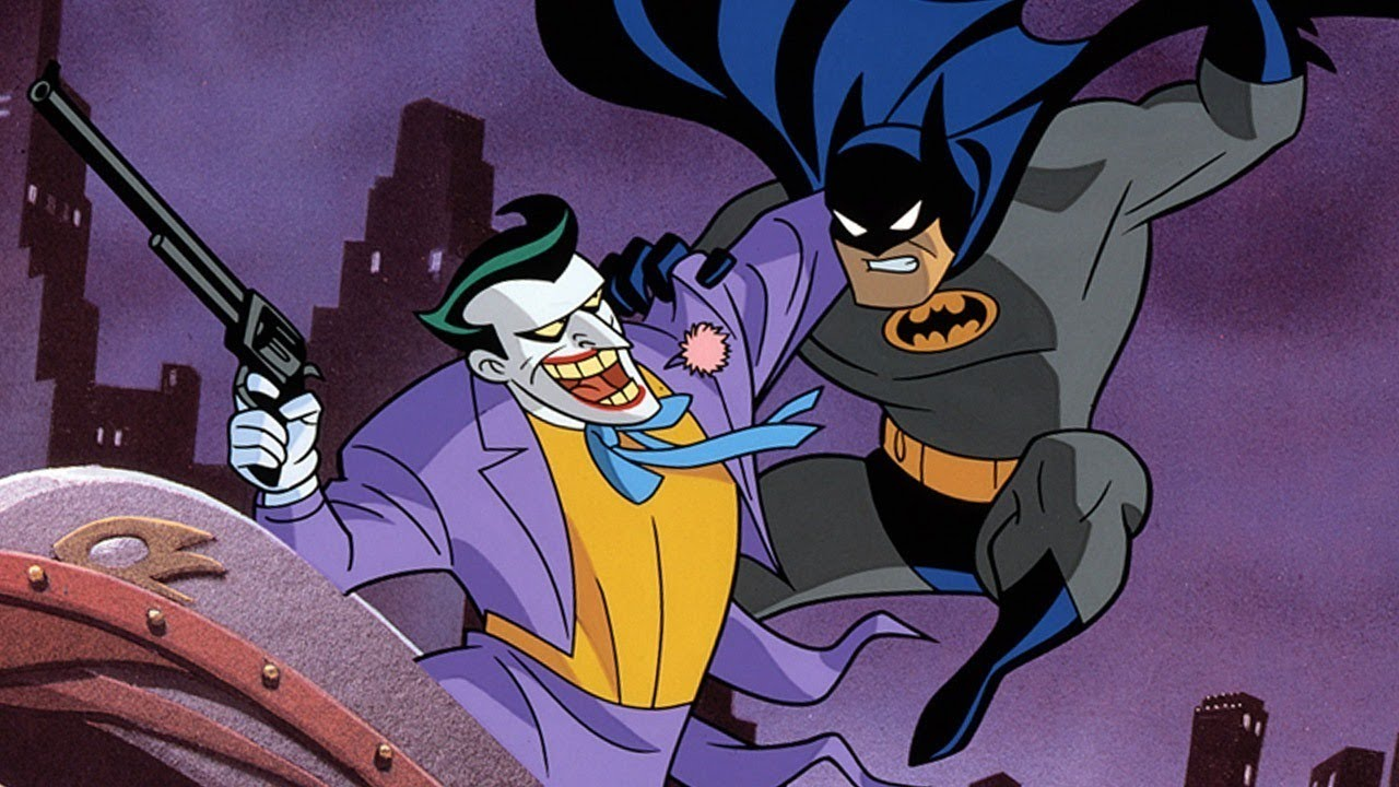 Kevin conroy says tim curry 39 s joker on batman the - Batman cartoon images ...