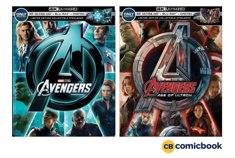 the avengers and age of ultron 4k ultra hd steelbooks revealed