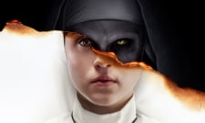 New Poster For The Nun Has Father Burke In Danger Once Again