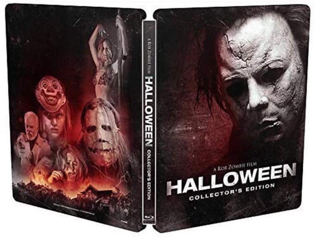 rob zombie's halloween steelbook slated for october release
