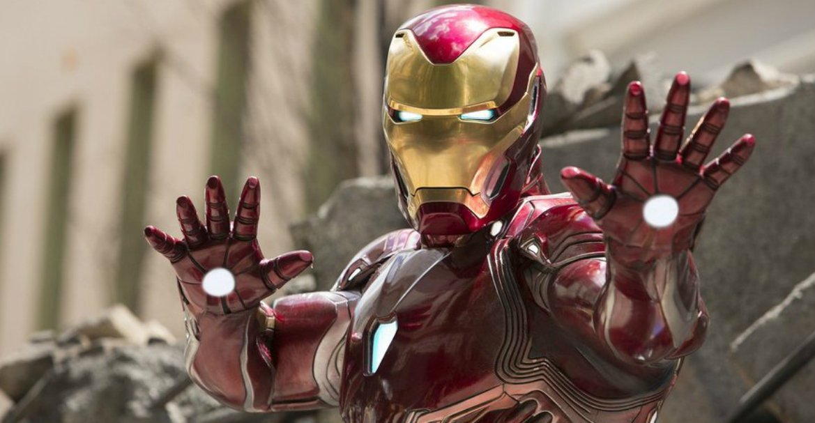 First Official Look At Iron Man's Avengers: Endgame Armor