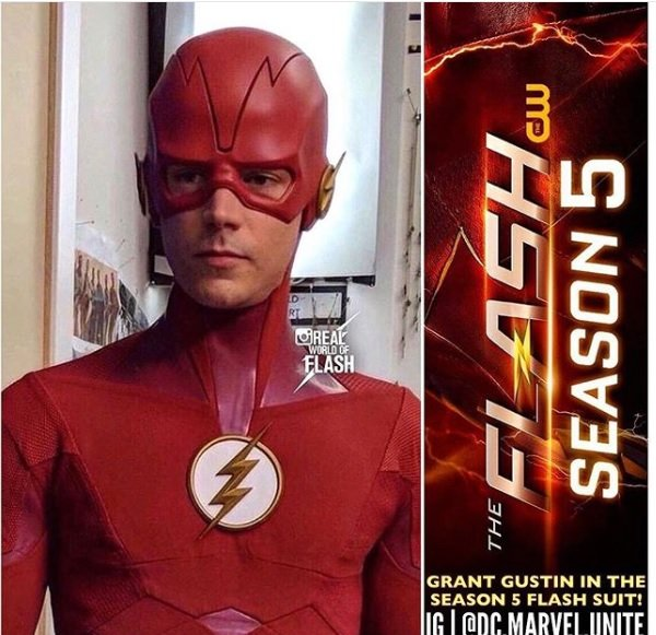 The Flash Suit Leak: Grant Gustin's Response - New Season 5 Costume